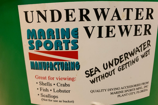 Underwater Viewer & Net