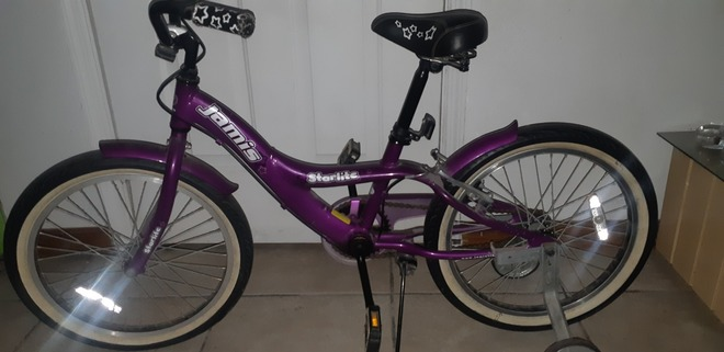 Little girls bike
