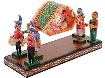 Selling: Kondapalli Wooden Palanquin