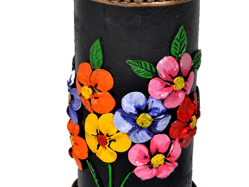Renting out without online payment: Handmade Flower vase
