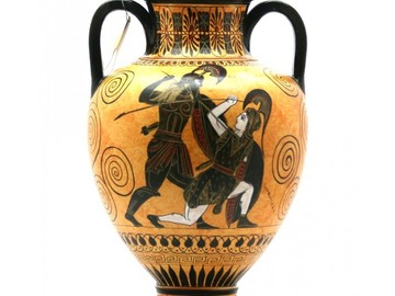 Selling: Achilles slaying Penthesilea