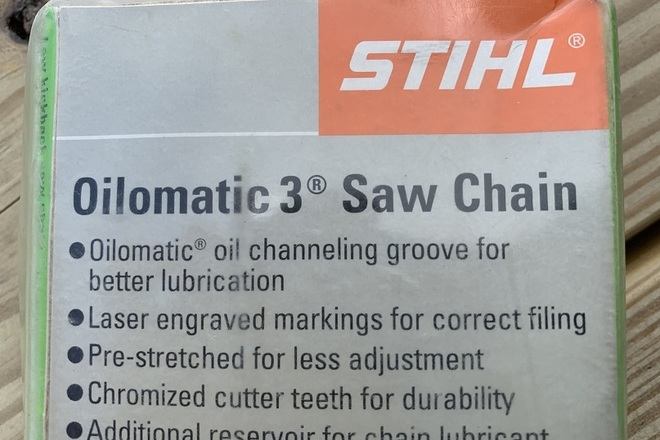 "16"" Oilmatic 3 Saw Chain"