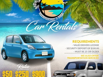 Rent: Car rentals