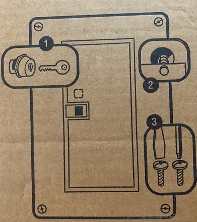 Square D Load Center Cover (24 Circuit)