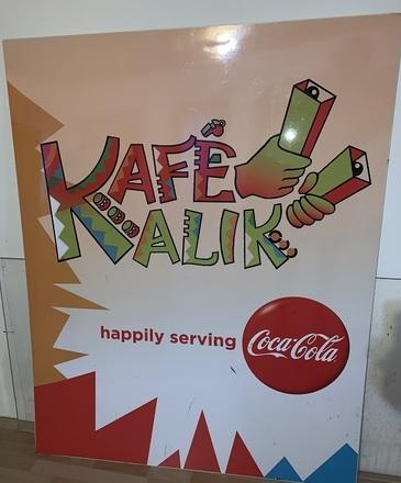 Kafe Kalik Poster Board (salvaged)