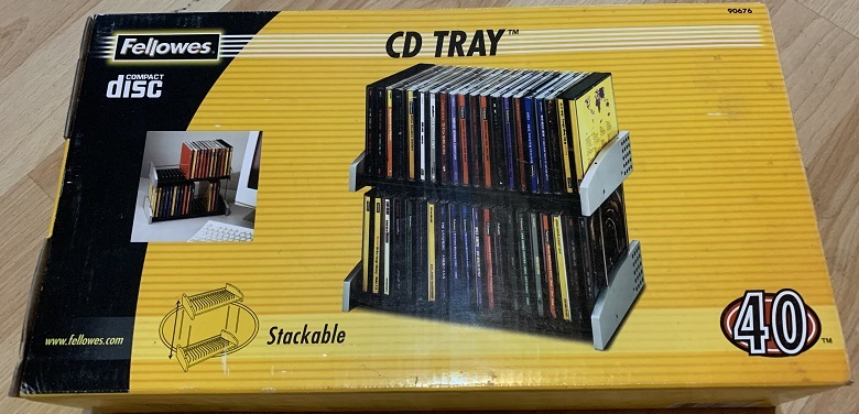 40 Disc CD Tray
