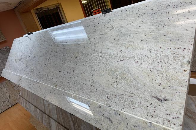 Stream White Granite Countertop