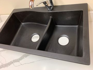 Sell: Black Granite Sink