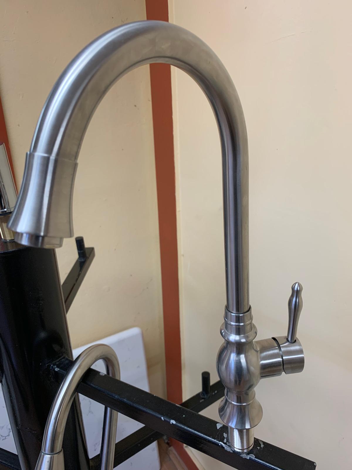 High Arc Kitchen Faucet
