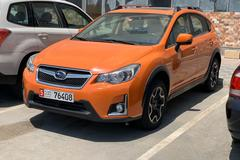 Renting out without online payment: 2016 Subaru XV