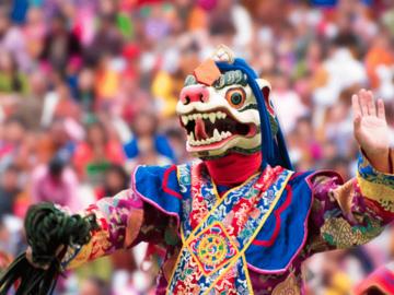 Create an event: PARO Tsechu Festival Granduer April 2020