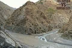 Micro blog: Confluence of Gyamting and Sutlej river