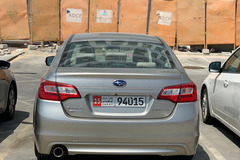 Renting out with online payment: Subaru Legacy