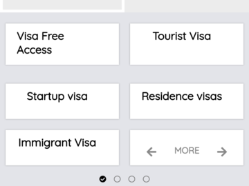 Micro blog: Database for all Visa free countries