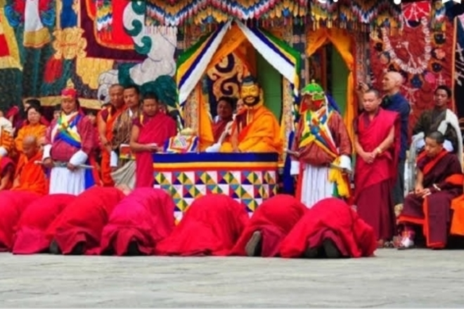 Create an event: Festival tour , punakha festival
