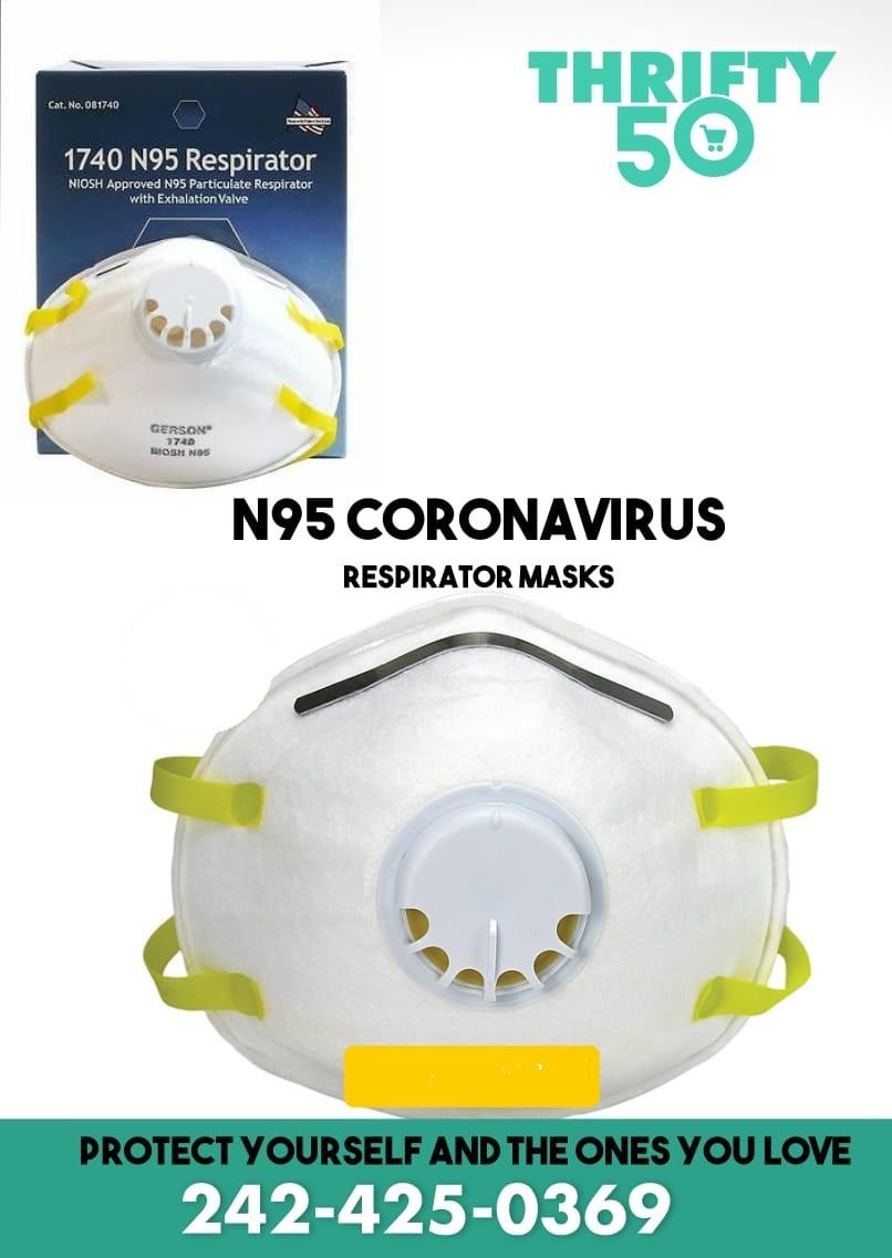 N95 Coronavirus Respirator Mask
