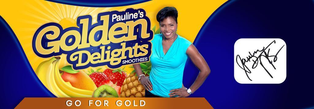 (12 oz) Pauline's Golden Delights Smoothies