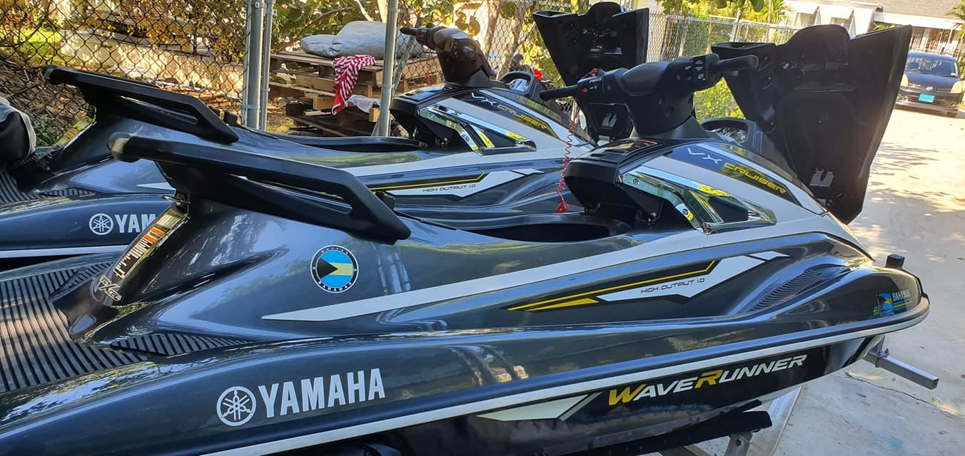 Yamaha Jet Skis (2)