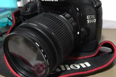 Renting out: Canon 550D DSLR with 55-250 zoom lens
