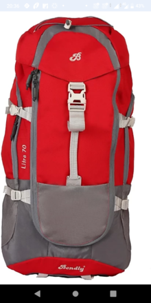 Renting out: 70 Ltr water resistant Rucksack
