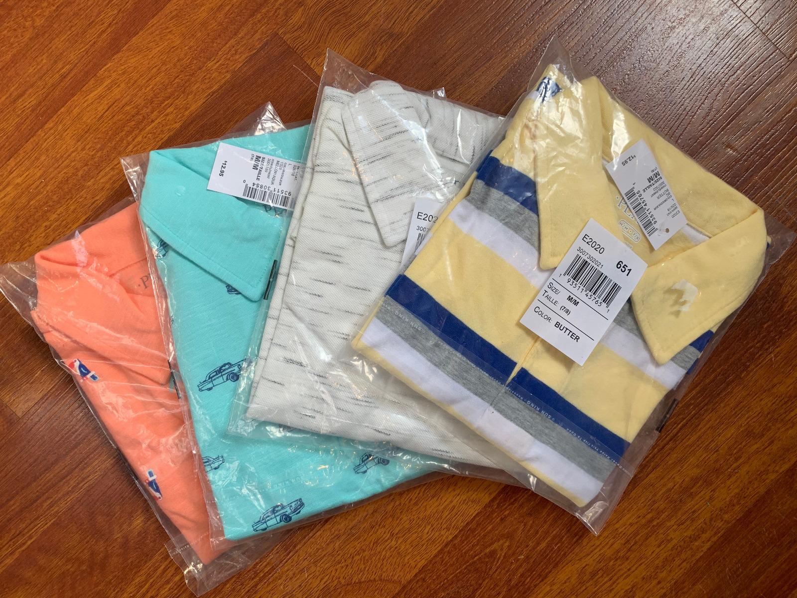 boys polo style Shirts (size 7/8)