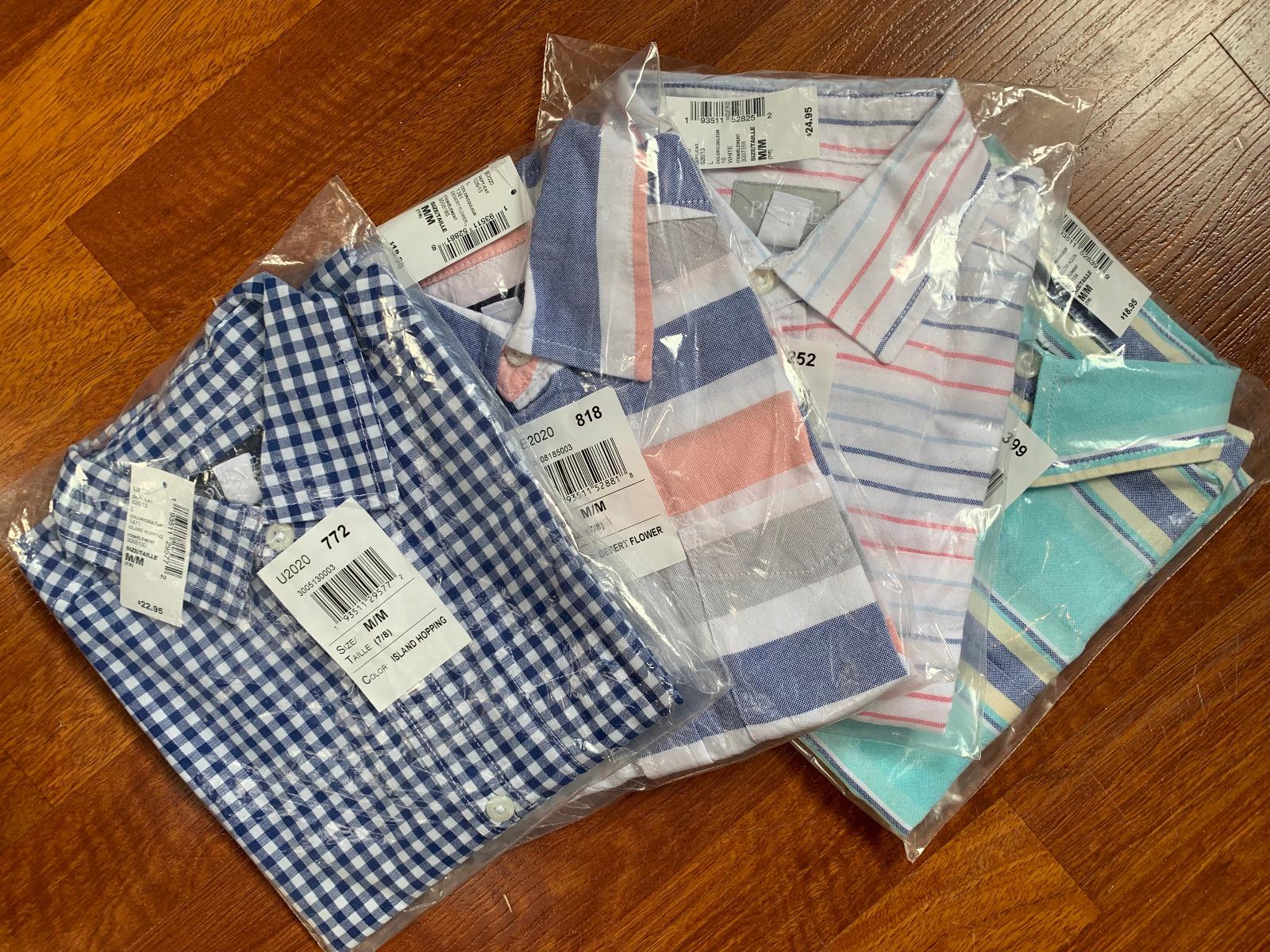 boys button Shirts (size 7/8)