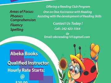 Service: ABC Reading - Tutoring