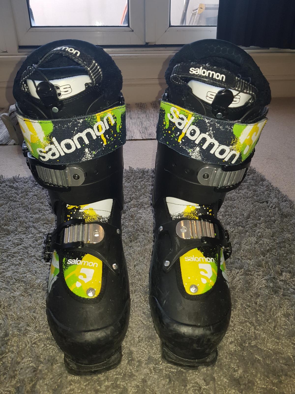 Salomon SPK85 27.5 freestyle boots