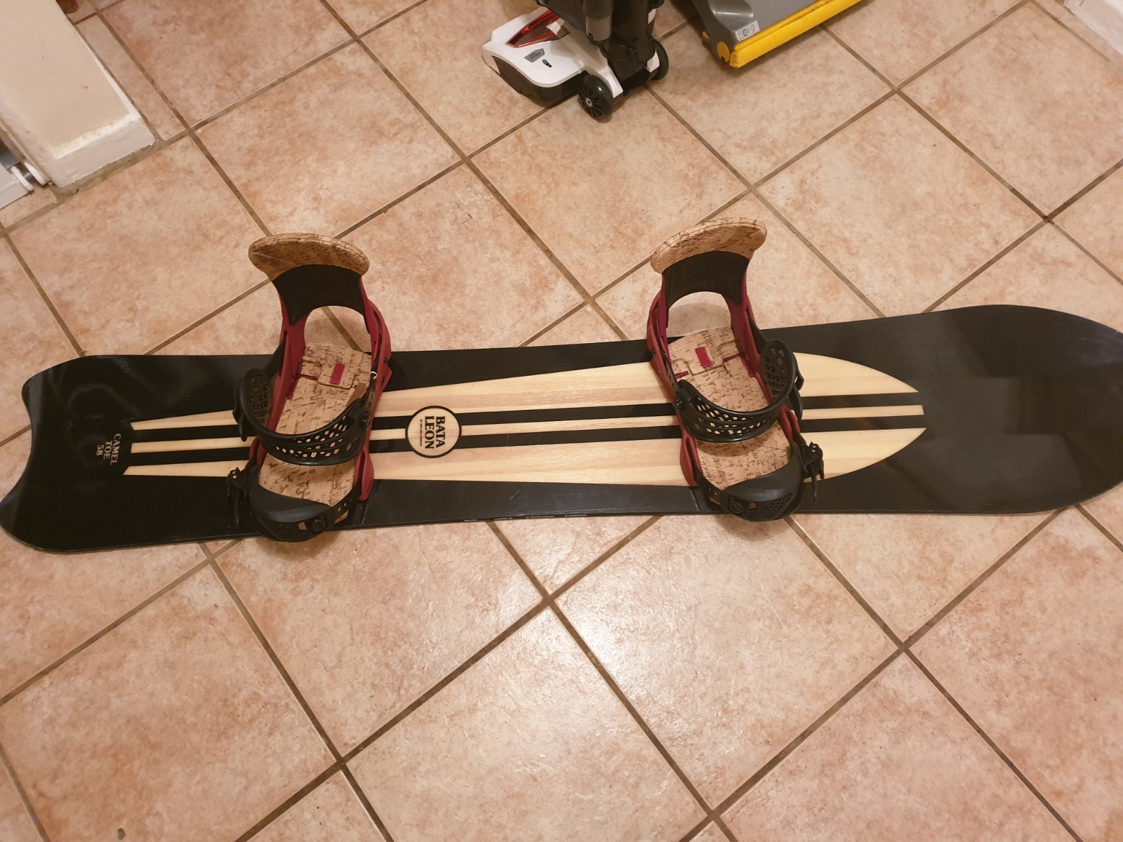 Battalion cameltoe snowboard