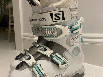 Selling: Salomon Qst Access 60 Women's Ski Boots Size 24.5
