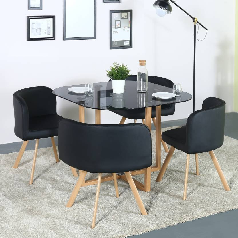 Perfect Homes Atiu Metal 4 Seater Dining Set