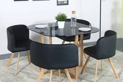 Selling: Perfect Homes Atiu Metal 4 Seater Dining Set