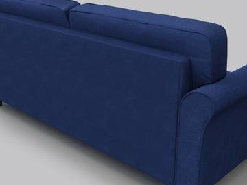 Per hour: Faroe Fabric 3 + 2 Dark Blue Sofa Set
