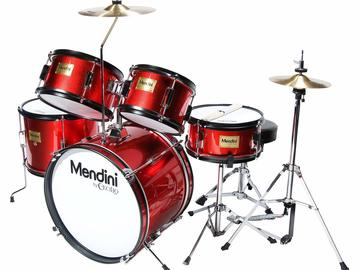 Selling: Mendini by Cecilio 16 inch 5-Piece Complete Kids/Junior Drum Set