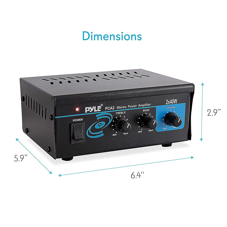 Home Audio Power Amplifier System 80 Watt