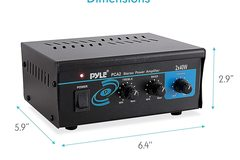 Renting Out: Home Audio Power Amplifier System 80 Watt