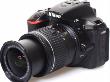 Rent: Nikon DSLR D5600 DSLR Camera with AF-P DX Nikkor 18-55 mm f/3.5-5