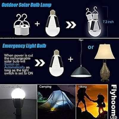 7w Solar Powered LED