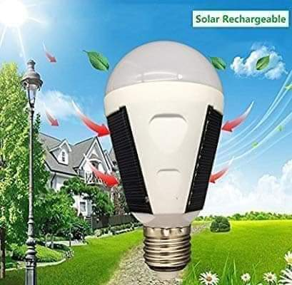 12w Solar Powered Led Bulb