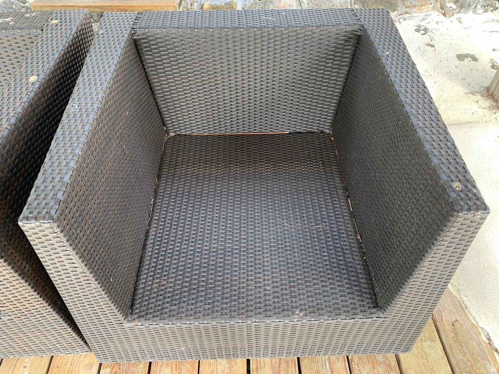 4-Piece Wicker Set