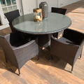 Sell: 5-Piece Wicker Dining set