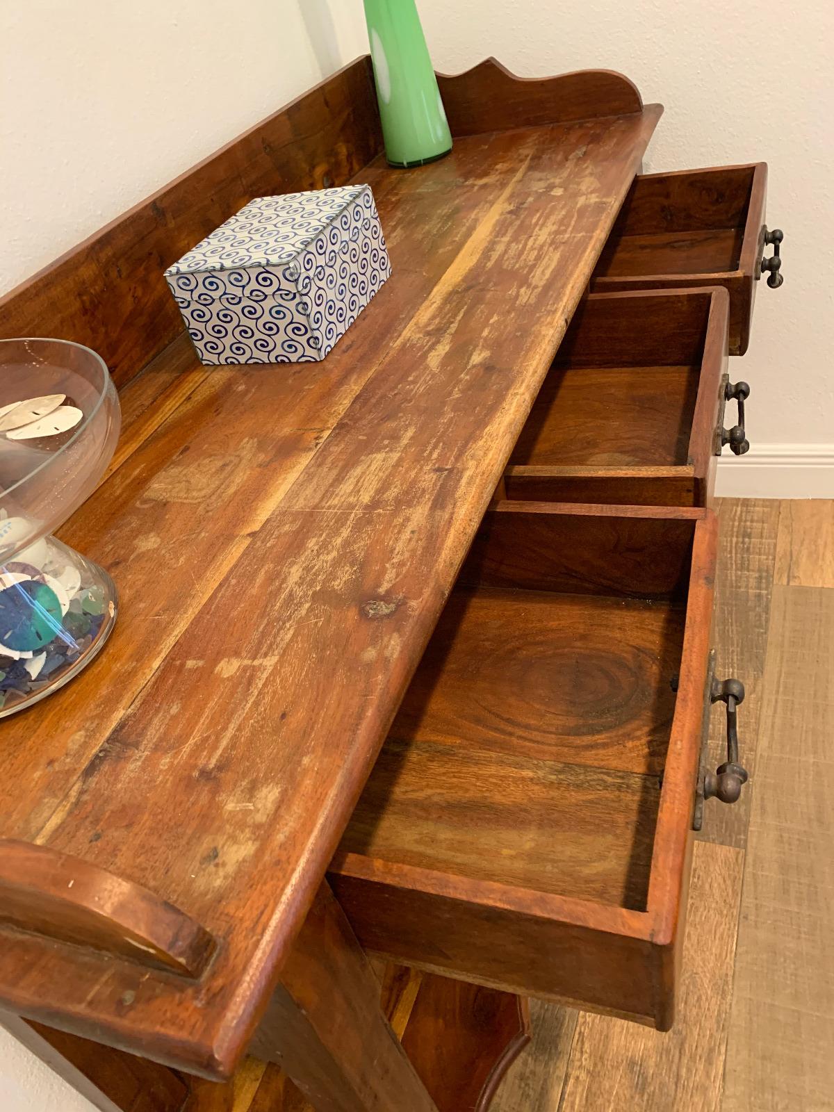 Rustic Hallway Table