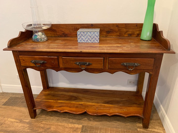 Sell: Rustic Hallway Table