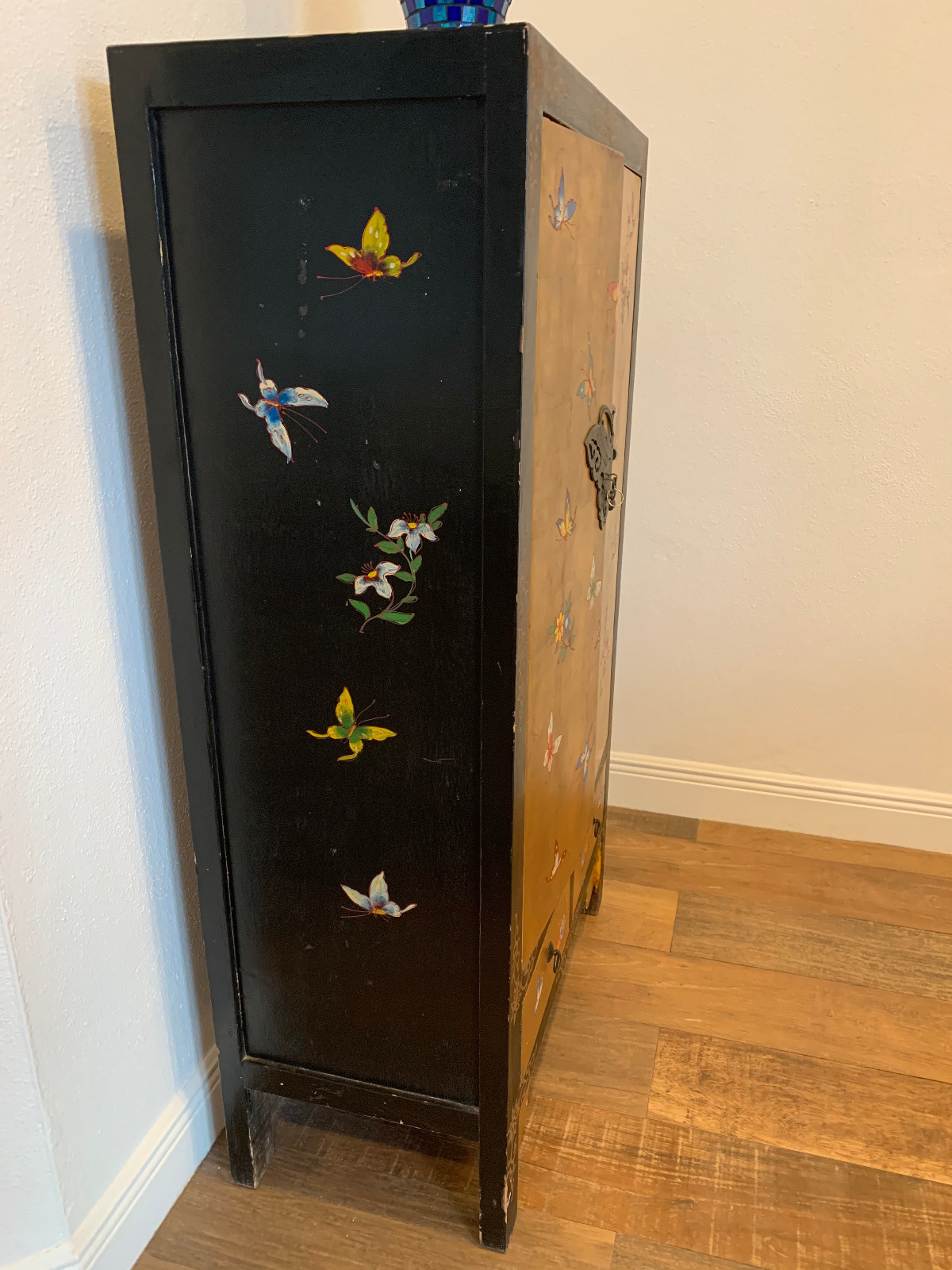 Handpainted Decorative Cabinet