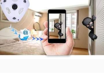 Wireless Panoramic Camera