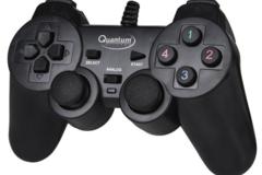 Selling: Quantum QHM 7468-2V USB Gamepad  (Black, For PC)
