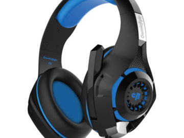 Selling: Cosmic Byte GS410 Wired Headset  (Black/Blue, Wired over the head