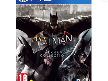 Selling: Batman Arkham Collection  (for PS4)