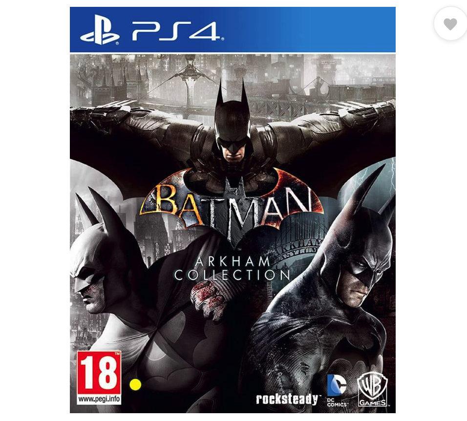 Batman Arkham Collection  (for PS4)