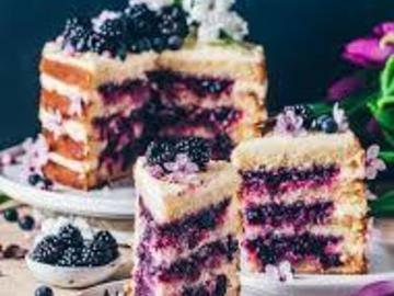 Selling: Blueberry Glaze Cake- Half Kg